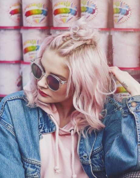 A lot of people go all in and dye their manes millennial pink. | 18 Pictures That Will Make You Want To Dye Your Hair Millennial Pink
