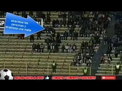 Fantasma en Estadio de Futbol Copa Libertadores 2014