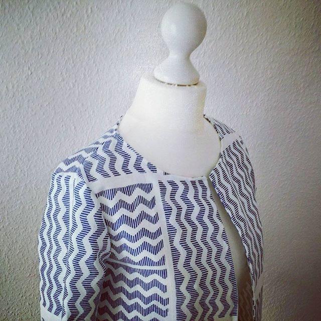 Veste Japon @madeinmecouture dans son plus beau tissu d'ameublement d'Ikea #vestejapon #madeinmecouture #ikeahacks  #cestmoiquilaifait