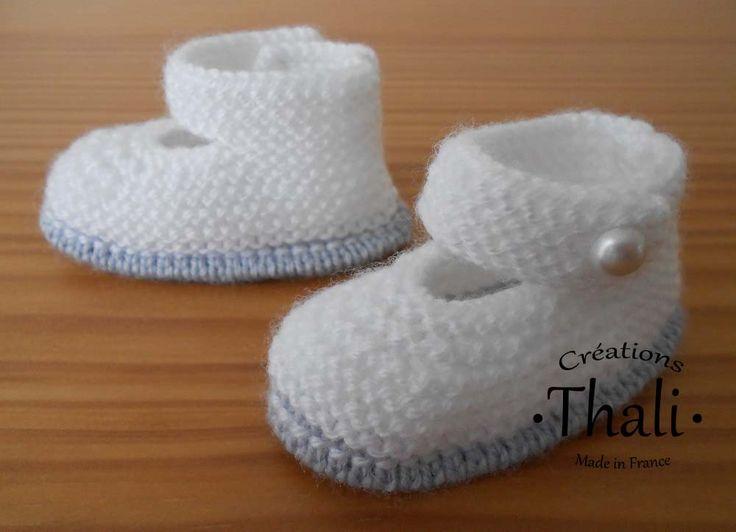 Les chaussons babies dans une version bicolore, ce modèle est classique mais beaucoup plus chic que la version précédente.
