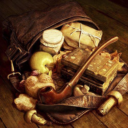 'Hobbit Provisions' (FFG LOTR LCG) by Mike Nash