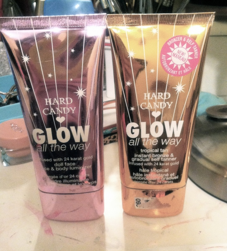 Hard Candy Glow All The Way - Dollface - mix a bit in with your foundation and WOW!!!!!!!!