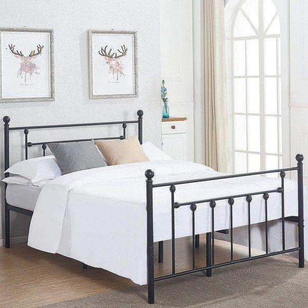 Iron Bed Frame Queen For Long Lasting Style Twin Size Bed Frame