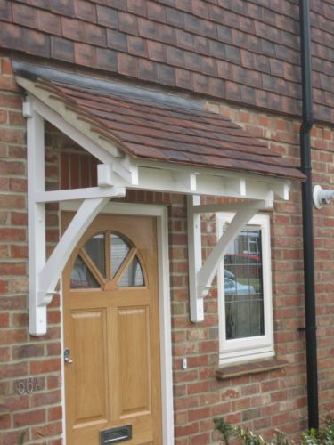 A range of flat roofed timber door canopies ready for covering in lead or felt & The 25+ best Door canopy timber ideas on Pinterest | Metal door ...