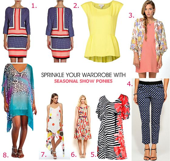 Unlock your style in 14 days: Sprinkle your wardrobe with seasonal show ponies