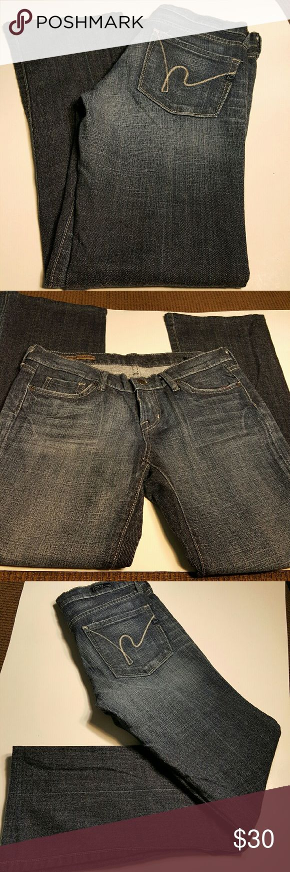 """Citizens for Humanity Jeans Kelly Boot cut, low waist. 28"""" inseam.  Gently worn and well taken care of.  See photos for more information. Citizens of Humanity Jeans"""