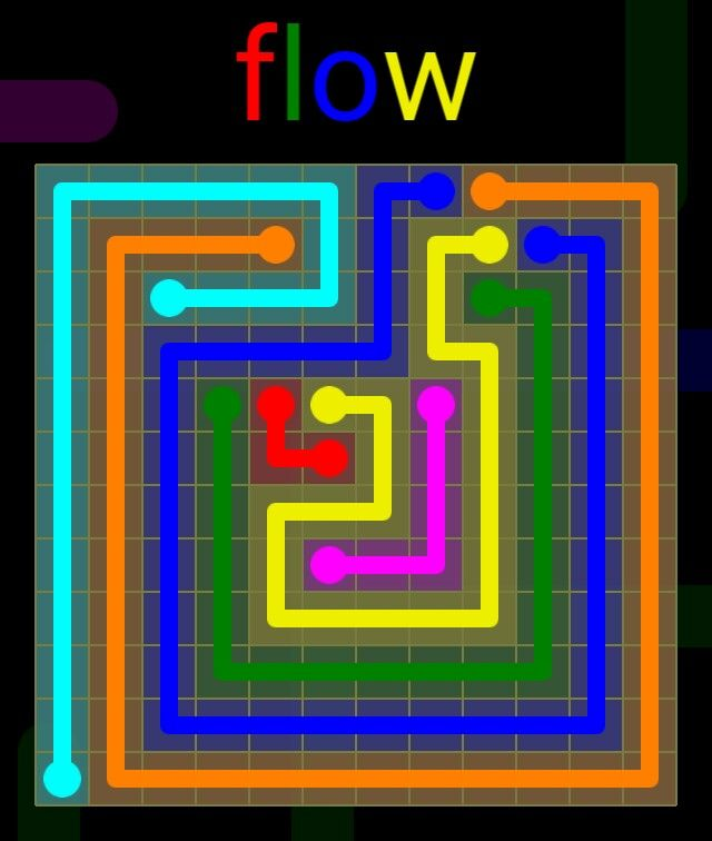 Flow Extreme Pack 2 - 12x12 - level 26 solution