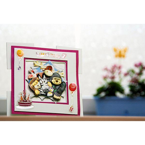 Kartka na urodziny DIY.  http://www.mojebambino.pl/promocje/10249-kuferek-urodzinowy.html