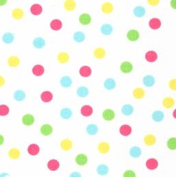 Fabric Finders, Inc. Print #967 Multi Dots