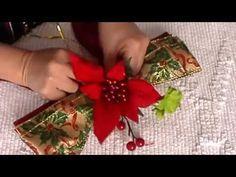 Lazo Navideño, Adornos navideños, Lazo para árbol de Navidad, adornos con cinta alambrada - YouTube