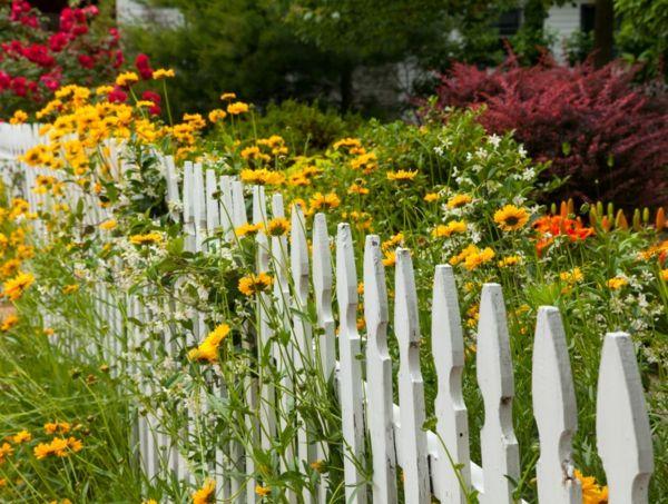 die besten 17 ideen zu gartenzaun weiß auf pinterest | zaun, Garten und Bauen