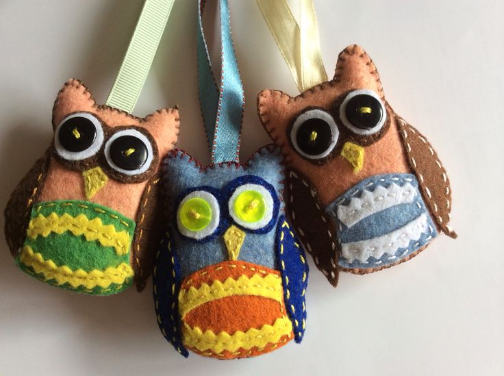 3 Owls as graduation gifts