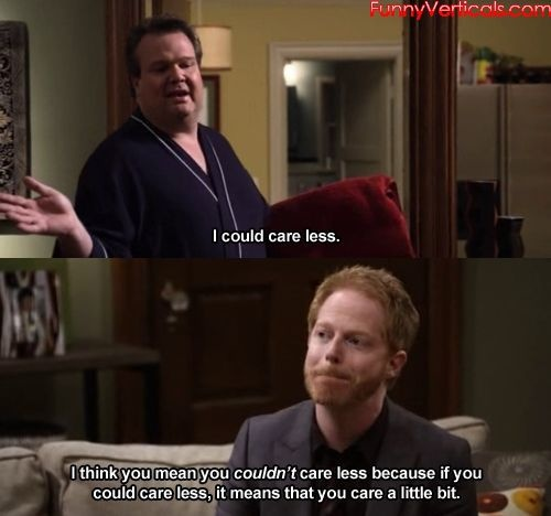 LOL! I am so Mitch here. My husband hates it when I go all Microsoft Word Paperclip on him.: Modern Families, Families Yall, Modernfamili, Pet Peeves, Modern Family, Funniest Moments, Biggest Pet, Funny Modern, Tv S Funniest