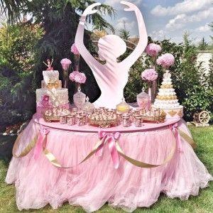"""Derin Parti Evinin hazırladığı """"Balerin Temalı"""" doğum günü partisi..."""