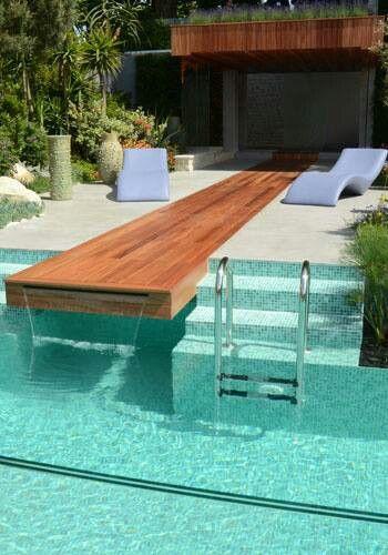 Pool water source idea