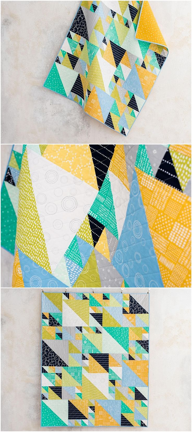 Landscape Quilt Patterns Kits : 1557 best Quilt Tutorials images on Pinterest Modern quilting, Contemporary quilts and ...