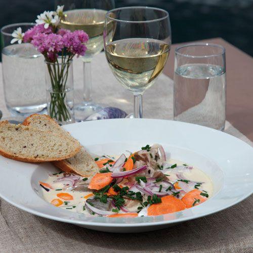Recept på Bohuslänsk makrillsoppa från - Hemmets Journal