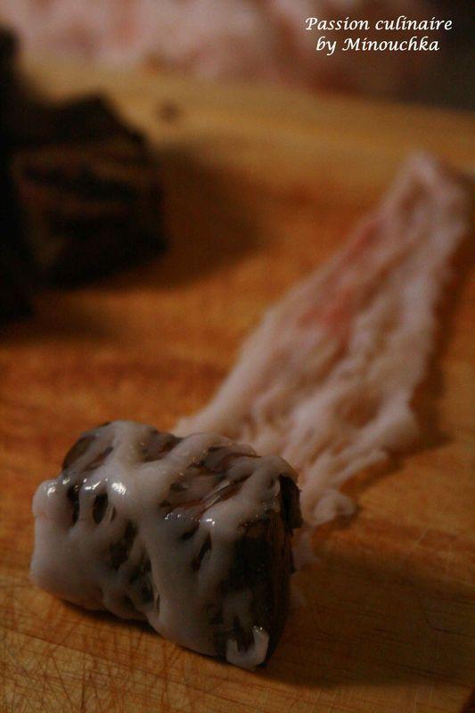 """""""Boulfaf"""" : Brochettes de foie de mouton à la crépine - Passion culinaire by Minouchka"""