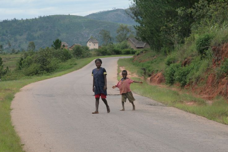 Where ever you stop in Madagascar happy kids come to meet and greet you with a happy smile