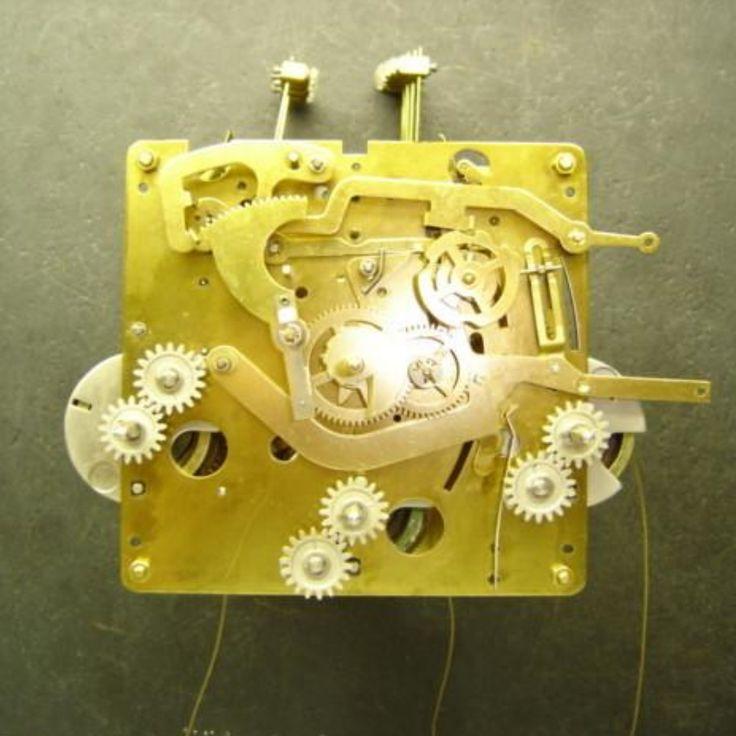 Urgos Repair / Rebuild Service For Urgos Square Grandfather Clock Movement / Small Cable Movement