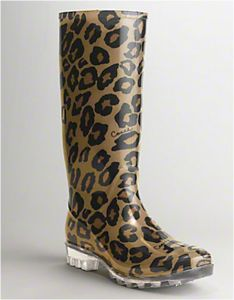 love these coach rainboots