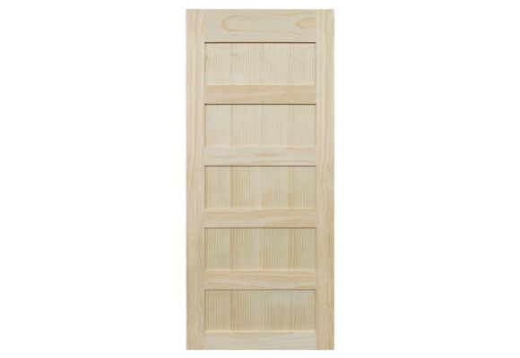 Barn Door 5 Panel Pine 42 X 100 Barn Door Beautiful Doors Paneling