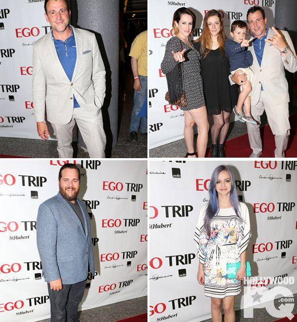 Tapis rouge d'Ego Trip avec Patrick Huard, Antoine Bertrand, Sandrine Bisson et Ludivine Reding | HollywoodPQ.com