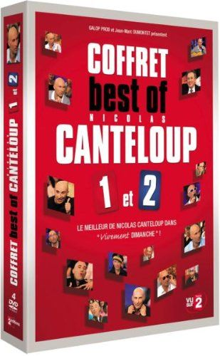 Coffret best of Nicolas Canteloup Vol 1 et Vol 2 – Le meilleur de Nicolas Canteloup dans Vivement Dimanche