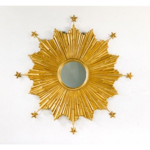 THE WELL APPOINTED HOUSE - Luxury Home Decor- Carvers' Guild Starburst Wall Mirror in Gold - Mirrors - Decorative from www.wellappointedhouse.com #homedecor #decorate #mirrors