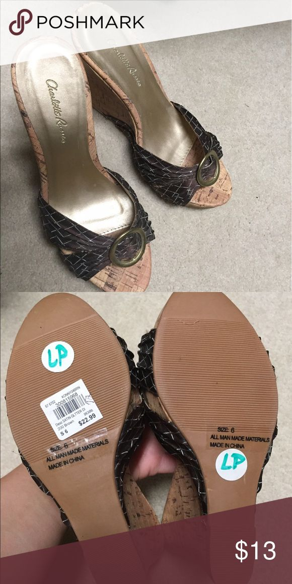 Brand new wedges charolette rouse Brand new with tags charolette rousse Shoes Wedges