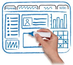 SharePoint wireframe site
