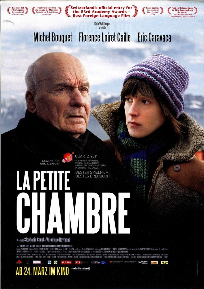 LA PETITE CHAMBRE - MICHEL BOUQUET - FLORENCE LOIRET CAILLE 2011 - FILMPOSTER A4