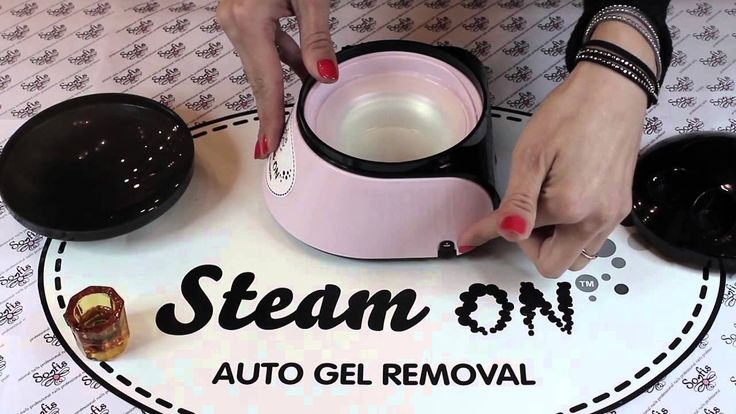 Steam on auto gel removal! Beauty-Plus Rethymno Official distributor for Crete