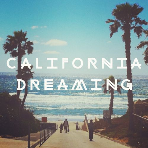 """""""California Dreaming"""" CHANGING LINES - Typeface"""