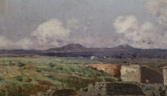 Giuseppe De Nittis - Paesaggio meridionale
