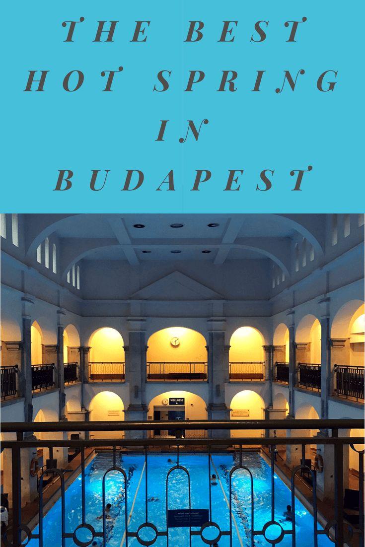 The Best Hot Spring in Budapest, Rudas Baths