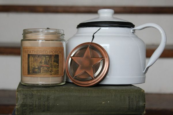 Weathered Porch 8oz Soy Blend Candle