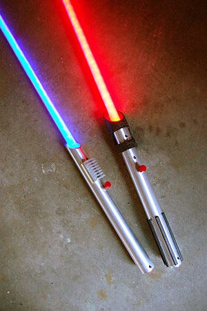 make a lightsaber