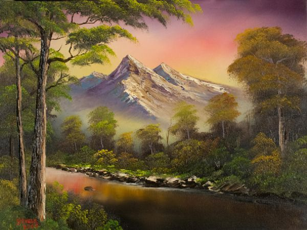 bob ross paintings for sale | ... > Paintings > bob ross ...