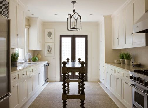 55 Best Small And Narrow Kitchen Space Images On Pinterest