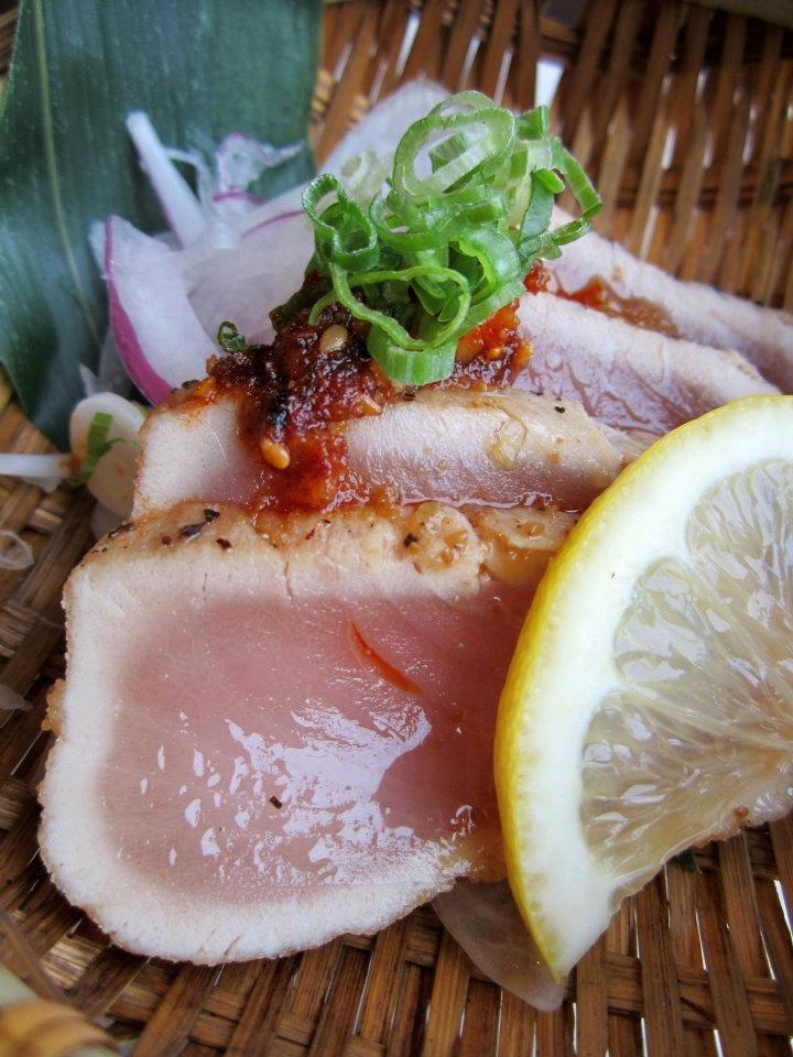 Tuna Tataki from our SUIKA package! http://www.vaneats.ca