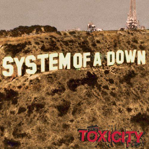 #2 System Of A Down - Toxicity, 2001 (J'ai fais écouté sa à ma mère dans le temps.. sa commence avec Prison Song donc elle disais que c'étais de la musique de malade aha)