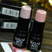 De sucre boîte de visage cosmétique de maquillage surligneur bâton Shimmer poudre pour reflets crémeux Texture étanche argent Shimmer lumière(China (Mainland))