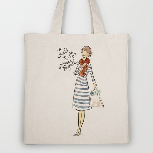 grocery ToteGirls Generation, French Girls, Grocery Totes, Girls Grocery