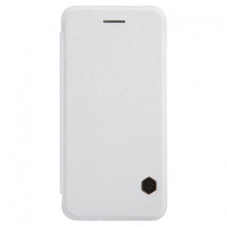 Husa iPhone 7 Plus Flip Nillkin QIN Alb. Husa iPhone 7 Plus Nillkin Qin, eleganta, protejeaza ecranul, spatele, lateralele si colturile telefonului.  http://catmobile.ro/huse-iphone-7-plus/husa-iphone-7-plus-flip-nillkin-qin-alb.html