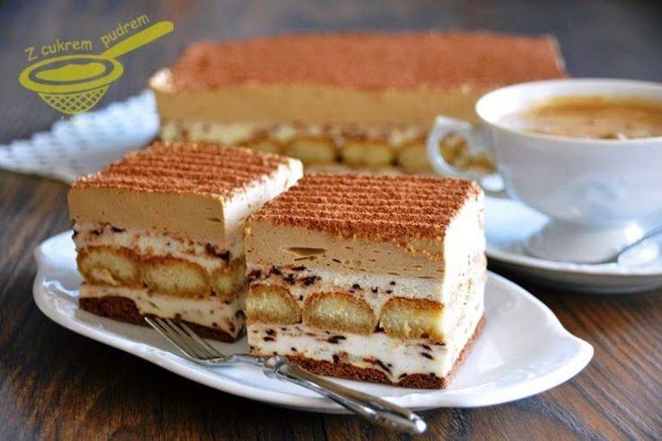 Pianka cappuccino - ciasto bez pieczenia
