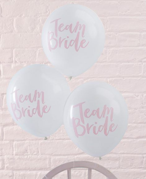 When you're looking for classy hen do decorations, don't rule out balloons. These Team Bride balloons are perfect in their simplicity and would look lovely tied to the backs of chairs or in a bunch. Just remember the golden rule of a sophisticated hen do – less is always more.