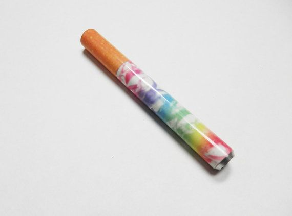 Rainbow Smoke Ribbon One Hitter Aluminum by CapitolSmokeShop