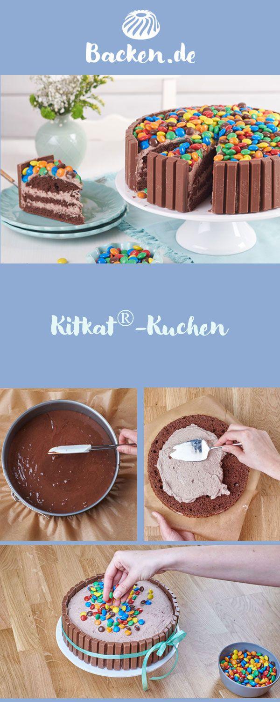Kitkat Rezept Comida Pinterest Cupcakes