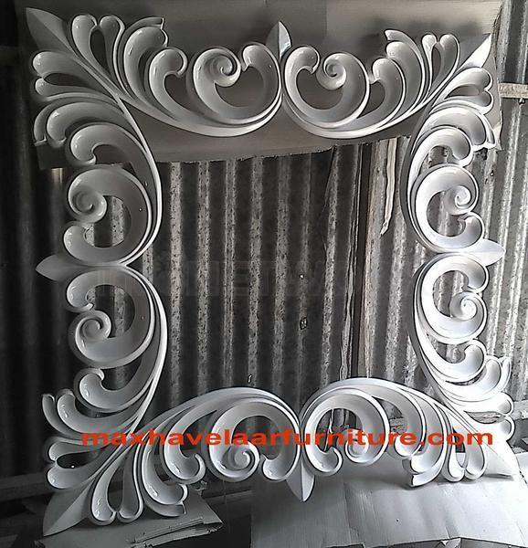 Detail Cermin Hias Putih • Max Havelaar Furniture • Indonetwork.co.id